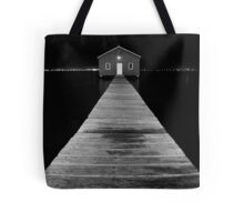 Boat Shed at Night Tote Bag