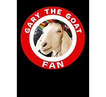 Gary The Goat (Fan) Photographic Print