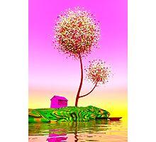 Colorful island. Photographic Print