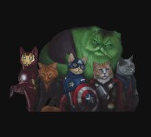 Cat Avengers by faptopsy