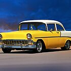 1956 Chevrolet Bel Air 'Post Coupe' by DaveKoontz