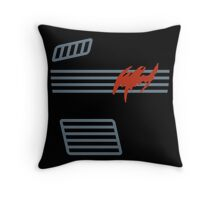 Bruce Wayne Shirt - Kenner 1990 Batman Action Figure Throw Pillow