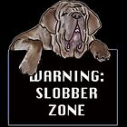 Neopolitan Mastiff Slobber Zone by IowaArtist