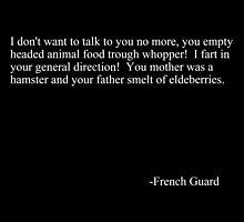 French guard by Raze4