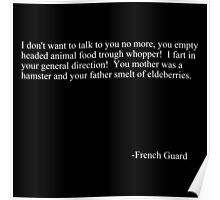 French guard Poster