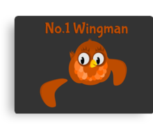 No.1 Wingman | Broken Wing Canvas Print