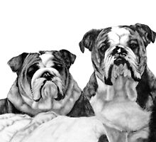 Bully Friends by Linda Ginn Art