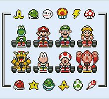 Mario Kart by Ohiogiant