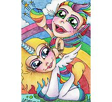 Rainbows And Unicorns Photographic Print
