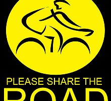 Please Share The Road by creativewannabe
