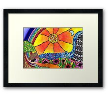 Camp Sunshine Fundraising Special Framed Print