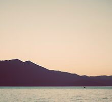 Lake Tahoe Sunset, Seventies by STUDIOCLAIRE