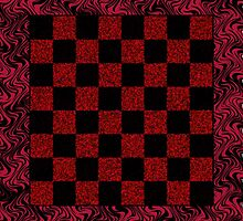Checker Board On-the-Go! Tote Bag by starcloudsky