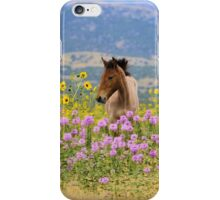 Foal and Flowers - 2 iPhone Case/Skin