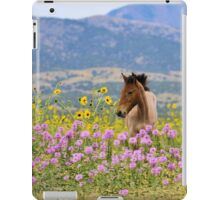 Foal and Flowers - 2 iPad Case/Skin