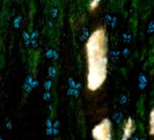 If Heaven Has Trees Sticker