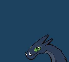 Wingless Dragon!!!!!!! by misselledagoose