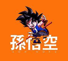 Son Goku by AlexKramer