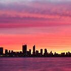 Perth from Applecross Jetty by Daniel Carr