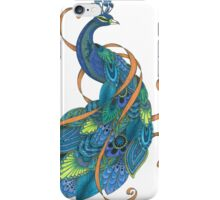 Mr Peacock iPhone Case/Skin