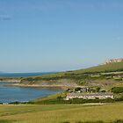 """ Overlooking The Yellow Ledges, Kimmeridge  "" by Richard Couchman"