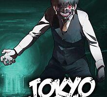 Tokyo Ghoul (Toukyou Kushu) Kaneki Sewers by nekyobot