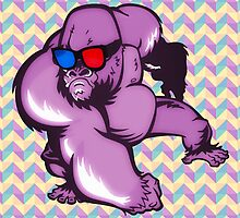 Kong 3D by sixtyloud
