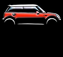 Mini Car - RED BMW by TOM HILL - Designer