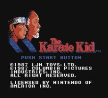 The Karate Kid by martyrofevil