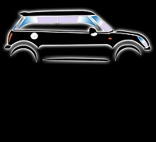 Mini Car - Black BMW by TOM HILL - Designer