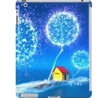 The blue island. iPad Case/Skin