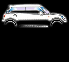 Mini Car - WHITE BMW by TOM HILL - Designer