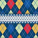 Blue Pattern  by evadelia