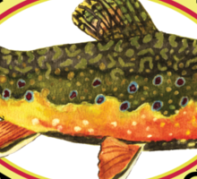 Humorous Fishing Sticker