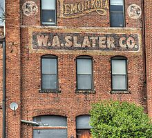 Old Advertising in Durham NC by Kadwell