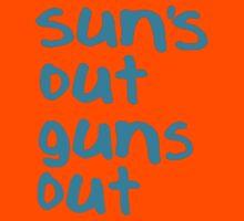 Sun's Out Guns Out - 22 Jump Street Kids Clothes