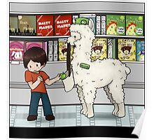 Alpaca your shopping! Poster