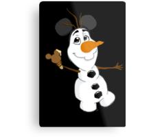 Sidekicks at Disneyland - Olaf Metal Print