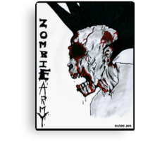 Zombie Army Canvas Print