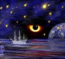 Bad Moon Rising by WildestArt