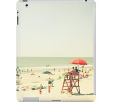 One Summer Day at the Beach iPad Case/Skin