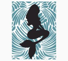 Disney Princess Ariel Fashion Silhouette by Mousetails