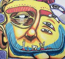 Street Graffiti Brazil by donjoy
