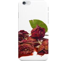 Roses and Blood iPhone Case/Skin
