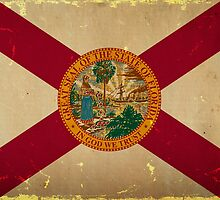 Florida State Flag VINTAGE by Carolina Swagger
