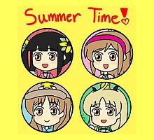 Summer Time Girls! by gaming123456