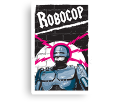 Robocop In Love Canvas Print