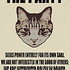 Orwellian Cat Does Not Care by Margaret Bryant
