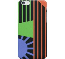 Abstract Lines of Color iPhone Case/Skin
