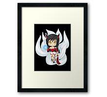 Ahri - League of Legends Framed Print